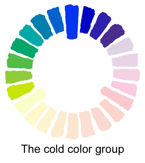 cold color group