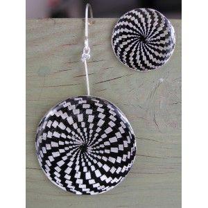 Illusion balls 2 ,  earrings