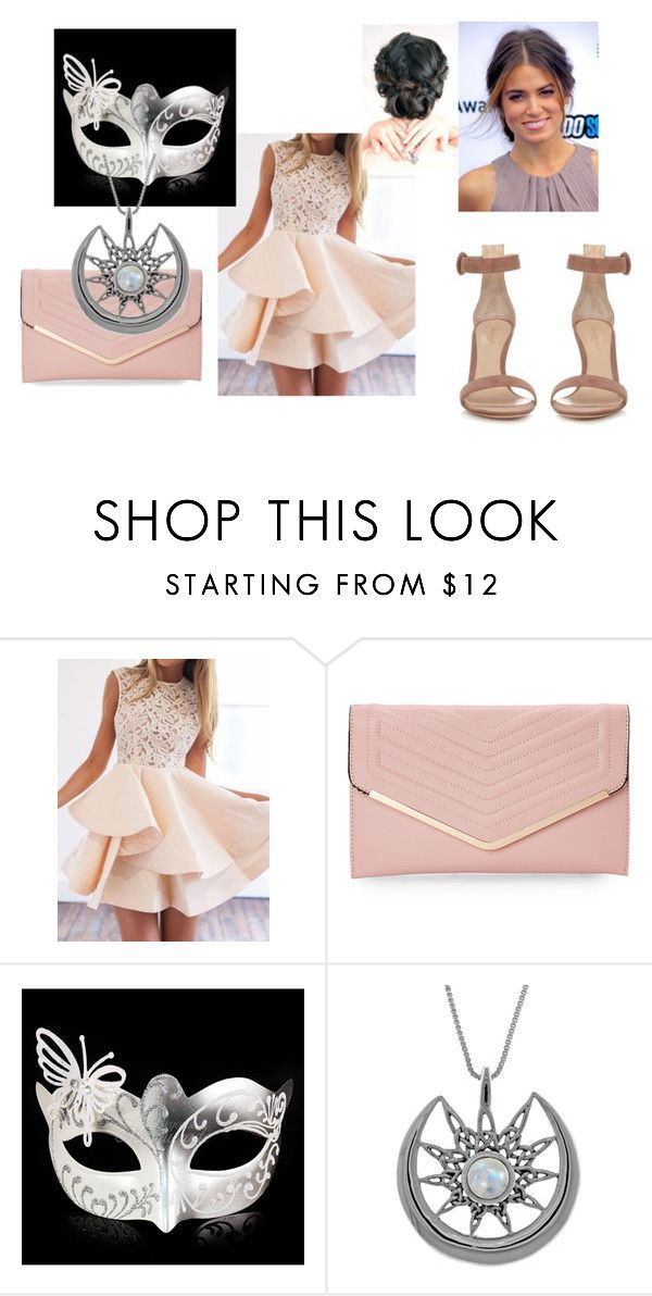 """""""Guardian"""" by jellyfishnamedsquid on Polyvore featuring Sasha, Carolina Glamour Collection and Gianvito Rossi"""