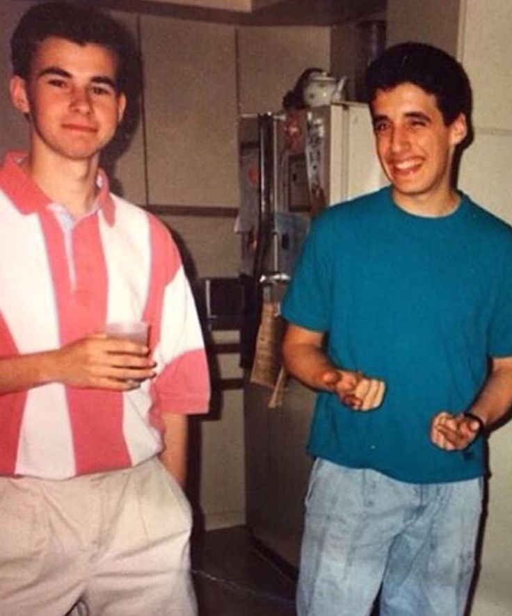 Young James Murray and Joe Gatto