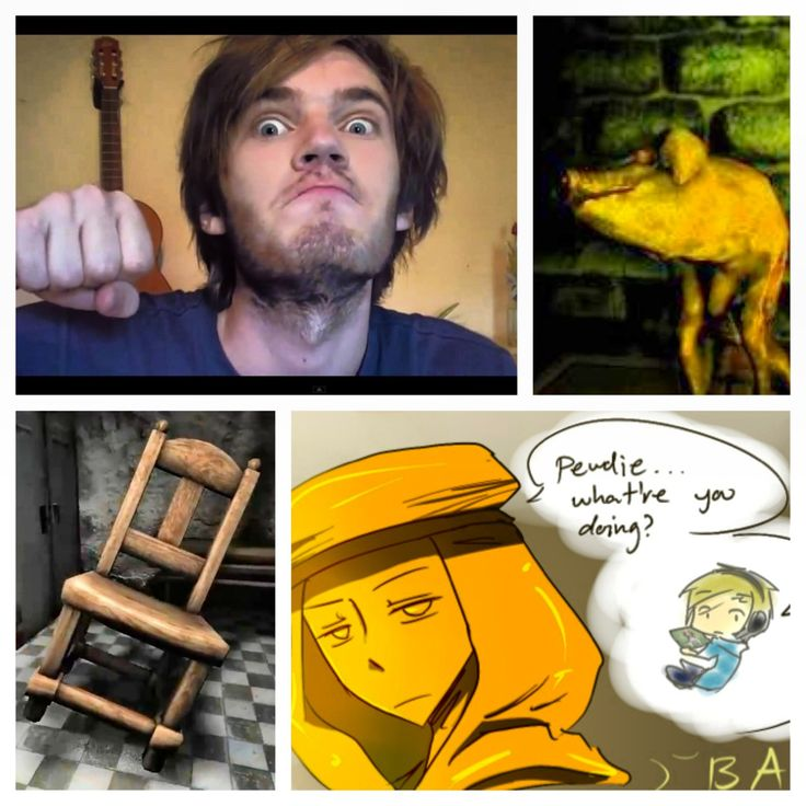 Pewdiepie, Stephano, Mr. Chair and Piggeh. :) | Pewds Does ...