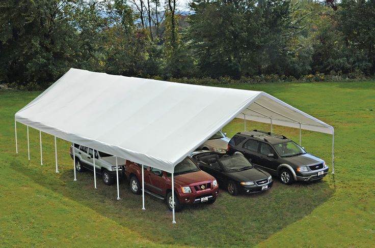 Ultra Max 30 Ft. x 50 Ft. Canopy Shade canopy, Plastic