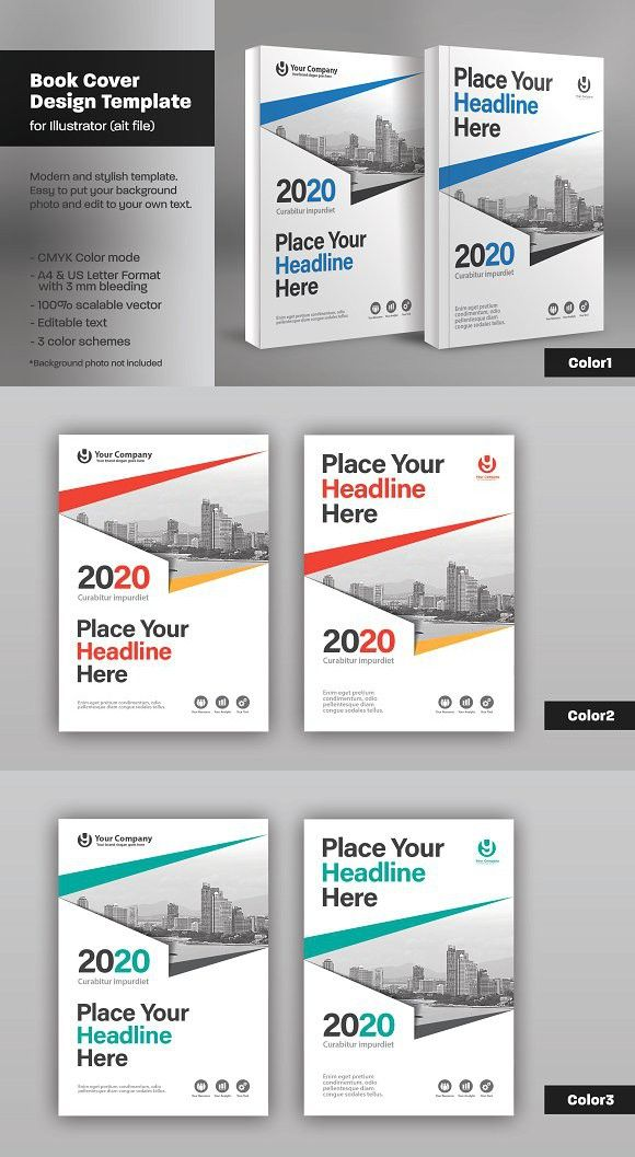 Cute Book Cover Template Illustrator Contemporary - Example Business ...