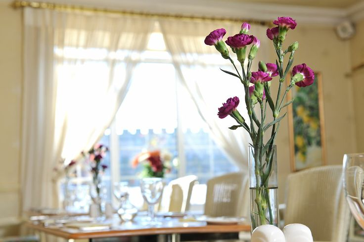 Dining at The Walnut Tree Hotel in Taunton, Somerset