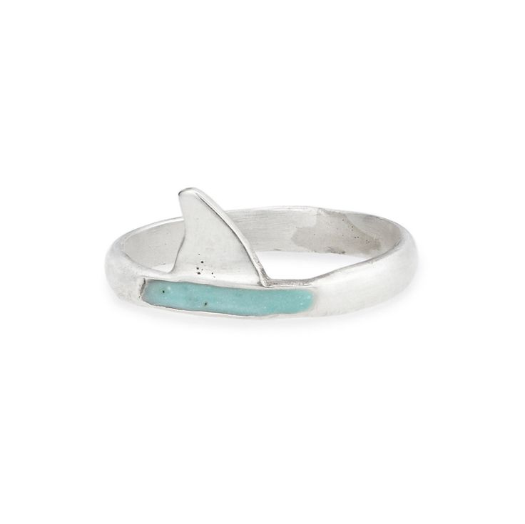 GREAT WHITE RING | shark ring for women | UncommonGoods