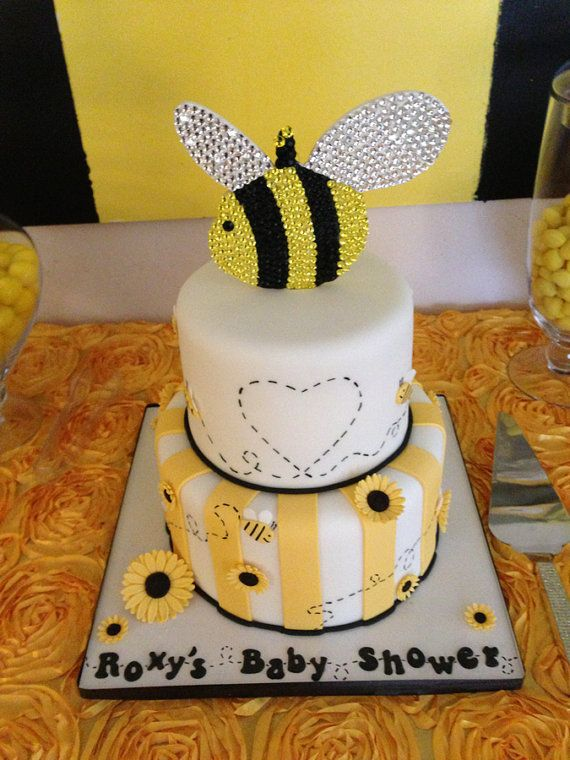 Crystal Bee Cake Topper By EverAfterFairytales On Etsy