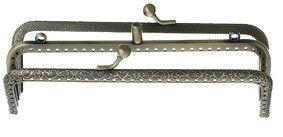 Taschenbügel - 2-fach Rahmen Taschenbügel Metall antik Bronze  - ein Designerstück von Leinen-Traum bei DaWanda