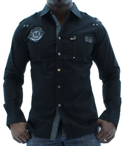 Moda Essentials Mens Woven Button Up Dress Military Shirt Black Size 4XL Moda Essentials,http://www.amazon.com/dp/B00CQB19R4/ref=cm_sw_r_pi_dp_PA2Rrb7FC40C4DAF