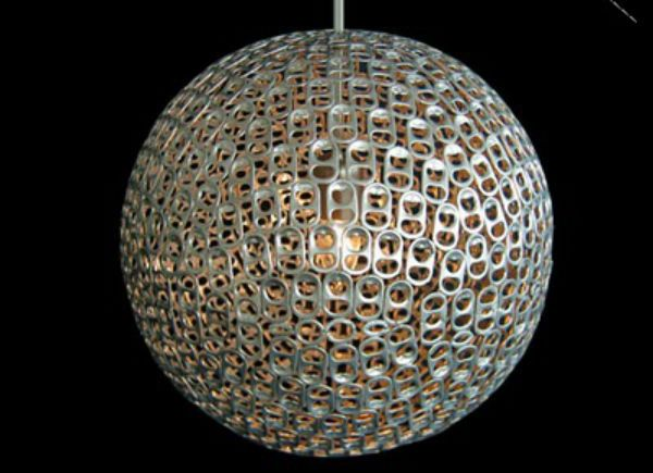 8. Can Tab Pendant from Astonishing DIY Light Fixtures