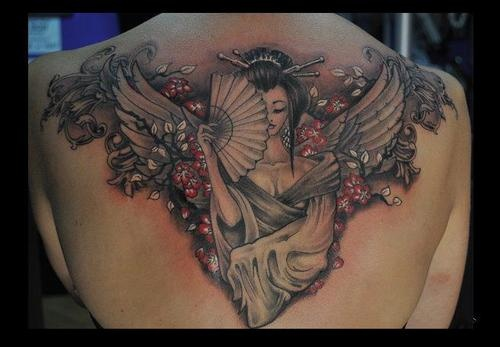 Back piece. #tattoo #tattoos #ink