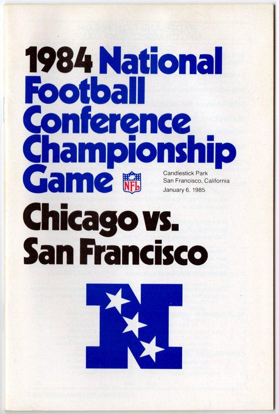 1984 NFC Championship Game NFL Media Guide by LlwynLlwyfenni