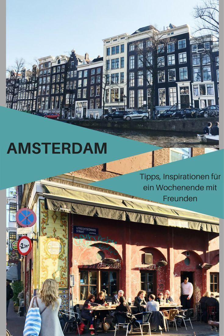 Amsterdam gehört zu den Städten, die man mehrmals besuchen kann und nie satt davon wird. Es gibt, außer der bekannten Sehenswürdigkeiten, immer viel zu sehen und zu entdecken. Für ein unvergessliches Wochenende mit deinen Freunden und Freundinnen gebe ich ein paar Tipps, Inspirationen und Empfehlungen. #amsterdam #hotel #nightlife #cafe #restaurant #städtereise #städtetrip #europa #jga #ausflüge #sehenswürdigkeit #sightseeing #freunde #freundinnen #mädels #wochenende