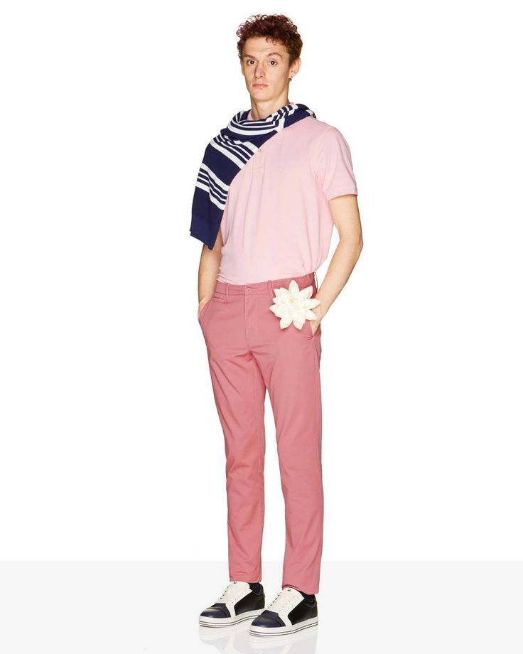 Slim fit #chinos from #Benetton #SS18 #man collection