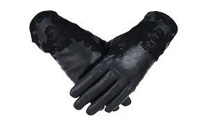 Groupon - Women's Genuine Leather Lace Gloves  in [missing {{location}} value]. Groupon deal price: C$15.99