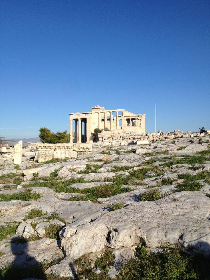 The Acropolis Athens, Greece photo taken by Allie