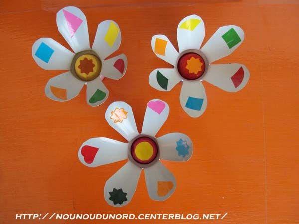 17 meilleures images propos de printemps fleurs activit s manuelles sur pinterest fils - Activite manuelle fleur ...