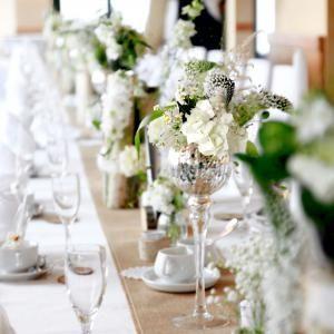 Pin von Nadine M auf Hochzeit  Tischdekoration hochzeit