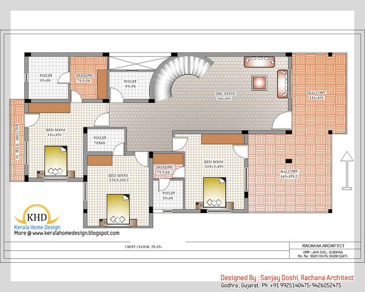 Modern indian house design plans   House and home design. 216 best HOME images on Pinterest   House floor plans