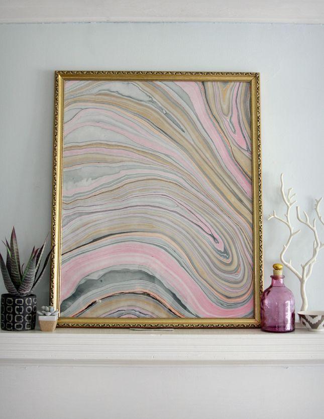 25 Dazzling Gem and Geode Decor DIYs via Brit + Co