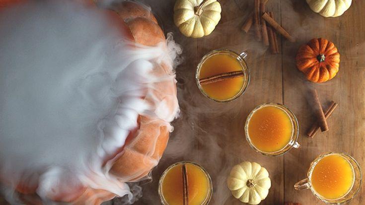 Délicieux punch d'Halloween rhum et citrouille - Montruc.ca