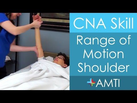 23 best cna prep images on pinterest cna skills test college here is how a cna is to perform range of motion shoulder fandeluxe Gallery