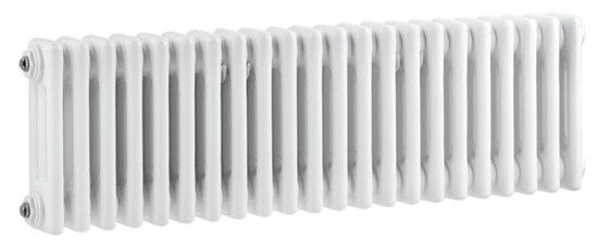 White Colosseum Triple Column Radiator 300 x 1011mm at Victorian Plumbing UK