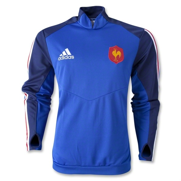 France 12/13 Rugby Training Top - WorldRugbyShop.com