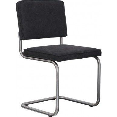 Zuiver stoel Ridge Vintage Brushed - Antraciet Grijs - DesignOnline24.nl - NIEUW