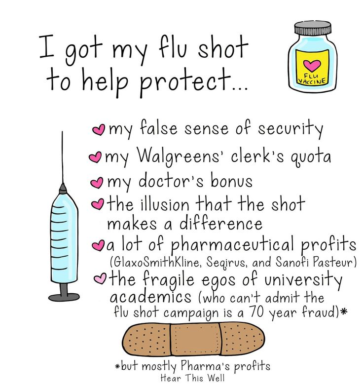 Reasons to get the flu shot