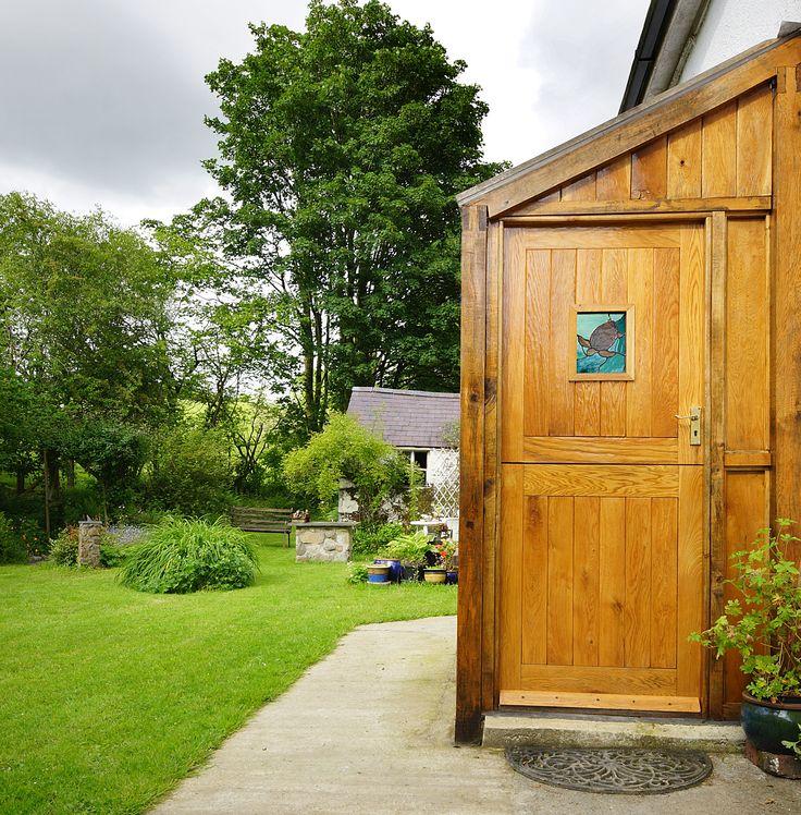 Cottage Stable Door, Solid Oak External Stable Door. Traditional Glazed Stable Door. http://www.ukoakdoors.co.uk/solid-oak-external-cottage-stable-door_p23637757.htm