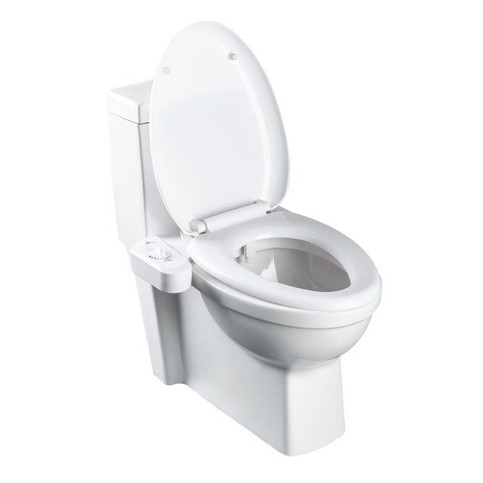 Simplet Natural Water Toilet Seat Attachment Bidet Bidet