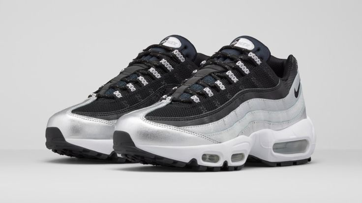 Wmns Nike Air Max 95 DYN FW Black White Tour Yellow