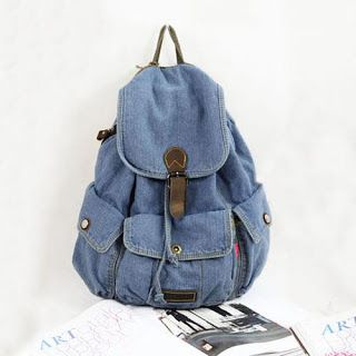 diy denim jeans into backpack | denim detailed backpack denim isn t just for your jeans anymore what i ...