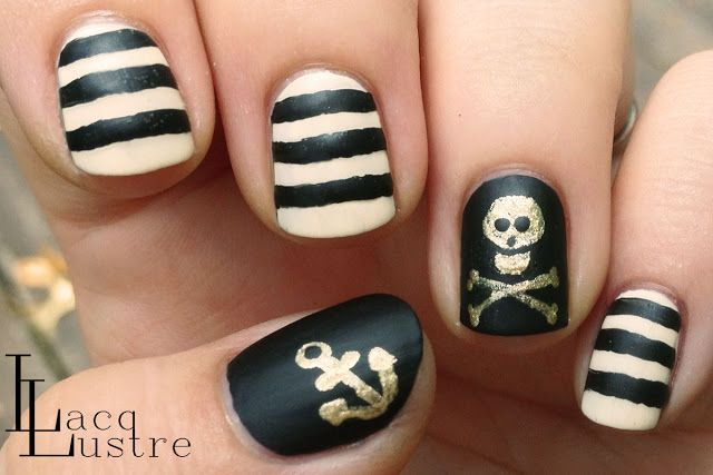 LacqLustre Pirate  #nail #nails #nailart