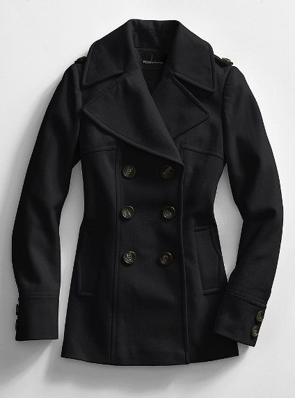 Victoria Secret Peacoat. Perfect for keeping warm in style