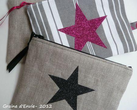 pochettes étoiles