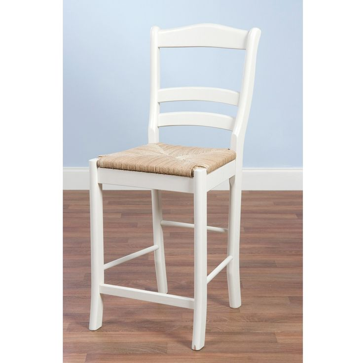 Simple Living Rubber Wood 30 Inch Parker Bar Stool By