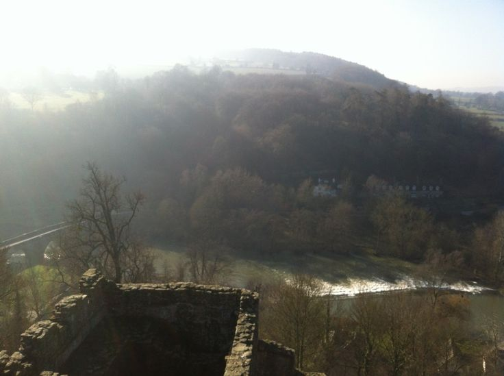 View from Ludlow Castle