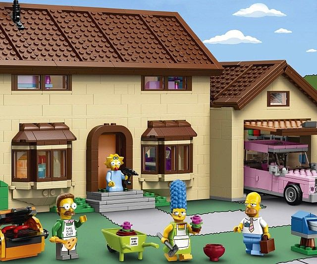 84 best images about die simpsons on pinterest edna for 742 evergreen terrace springfield