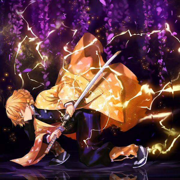 Zenitsu Agatsuma Kimetsu No Yaiba 4k 3840x2160 Wallpaper Anime Demon Slayer Anime Anime