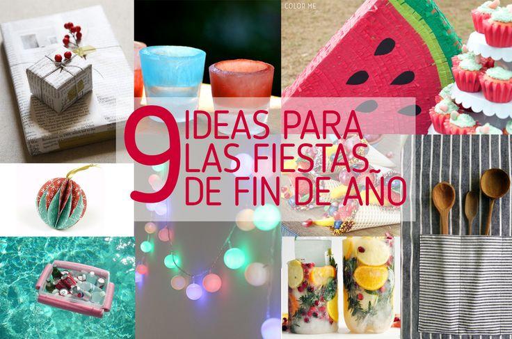 9 ideas para quienes celebramos las fiestas de fin de año en el hemisferio sur. #verano
