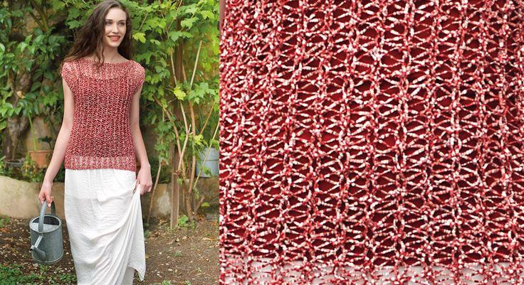 Les 388 meilleures images du tableau tricot sur pinterest crochet de tricot ponchos et charpes - Point fantaisie tricot phildar ...