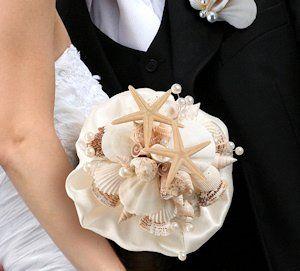 Coastal Sea Shell Bouquet