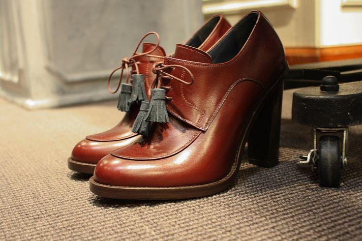 latest women fall fashion | New York Fashion Week – Brooks Brothers Black Fleece Fall/Winter ...