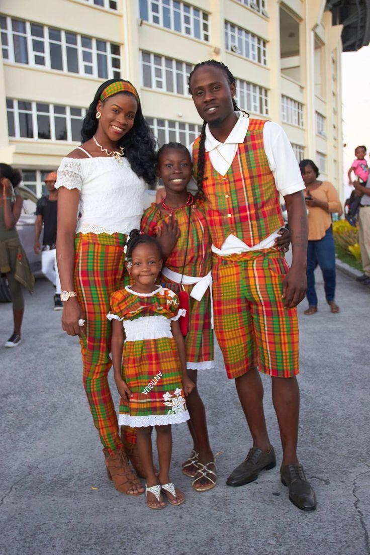Antigua and Barbuda 🇦🇬 National dress In Caribbean ...
