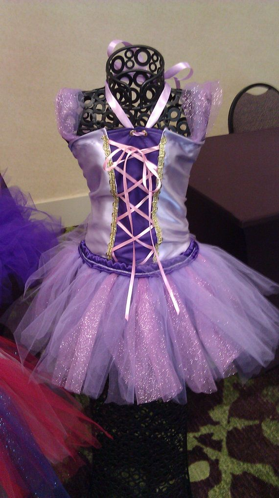 Tangled inspired Tutu Costume by PerryWinkles11 on Etsy, $65.00