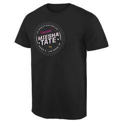 Men's Miesha Tate Black UFC 196 Participant T-Shirt