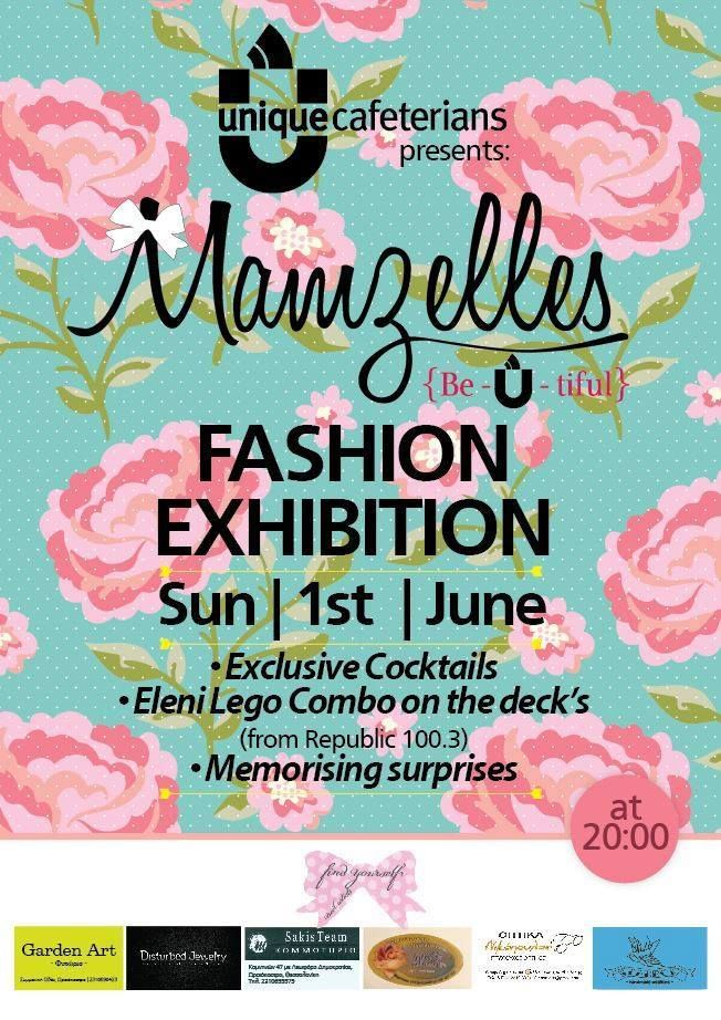 We will take in @MamzellesGR Fashion Show this Sunday! Come and see our jewelry collection *