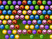 Free Online Puzzle Games, Help these fun monsters reach a party by magically transporting them in Yummy Yummy Monster Shooter!  Match 3 of the same monsters together to send them off to the party!  Don't let the monsters overrun the board or they won't be able to take off!, #yummy #monster #shooter #shoot #bubble #match #3 #puzzle #gamers #computergames #nerds #fungames #bubblegames #games