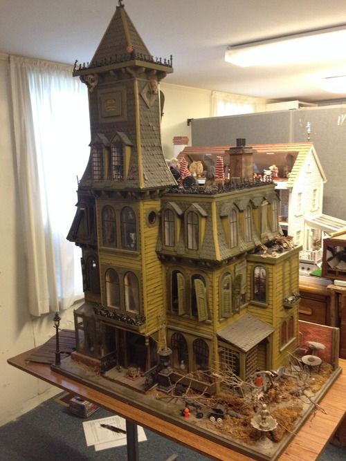 Conserving the Addams Family Dollhouse at the Wenham